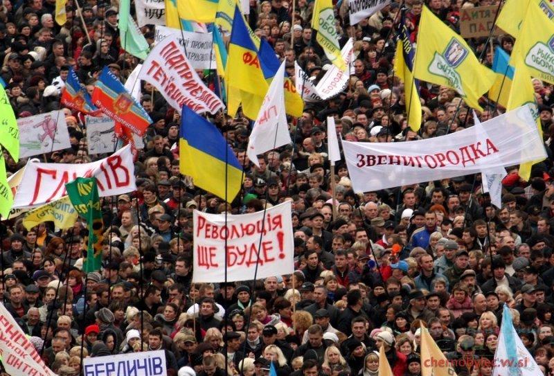 Украинцы выйдут на третий Майдан, если власть снова обманет