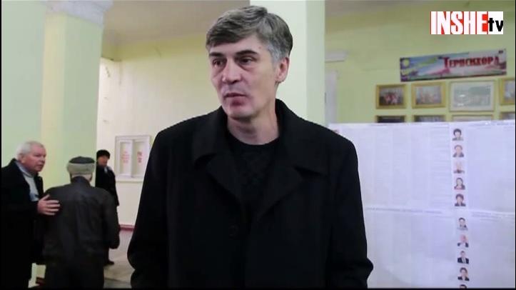 Голосуют кандидаты. Александр Жолобецкий уверен, что новый парламент быстро начнет необходимые реформы