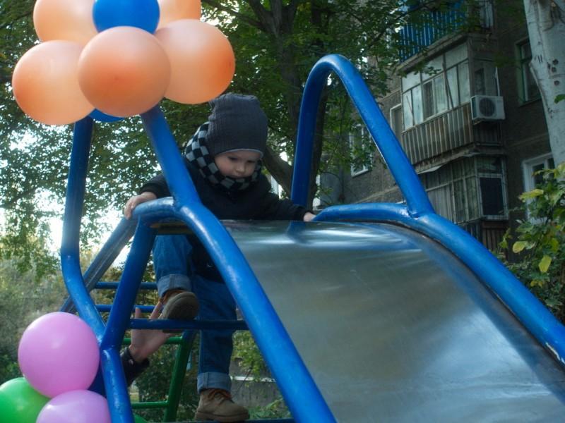 В городе держится мода на детские площадки
