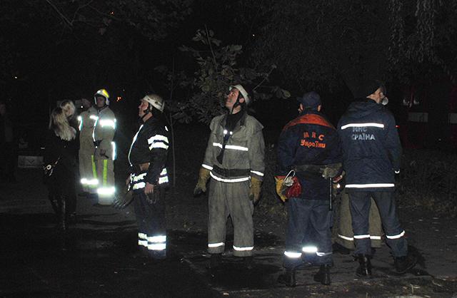 Большой пожар на Новозаводской
