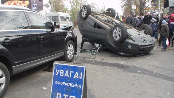 Дорогой кульбит: На Рюмина-пр.Ленина – зрелищное  ДТП