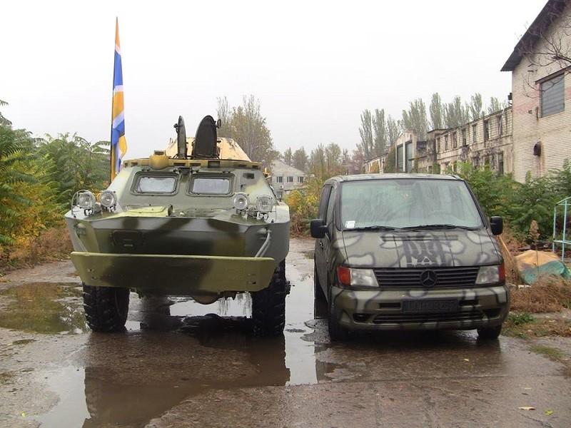 «Обещали – сделали»: 19 батальону ТрО передали нужные колеса