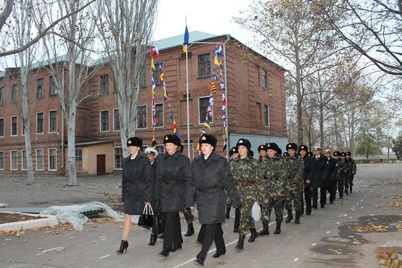 В открывшемся в Николаеве 198-м Учебном центре Военно-Морских Сил Вооруженных Сил Украины будут учиться и женщины