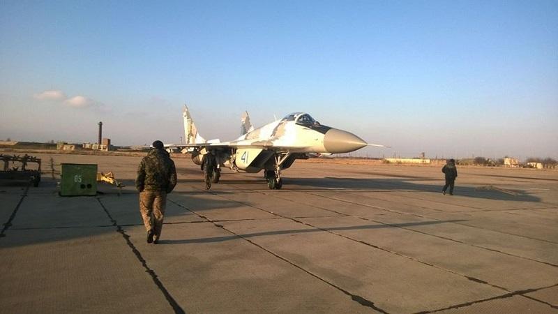 Бельбековские летчики получили после капремонта еще один МИГ