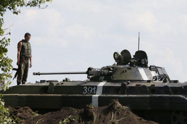 Защитники Донецкого аэропорта жестоко карают террористов за попытки пострелять в их сторону