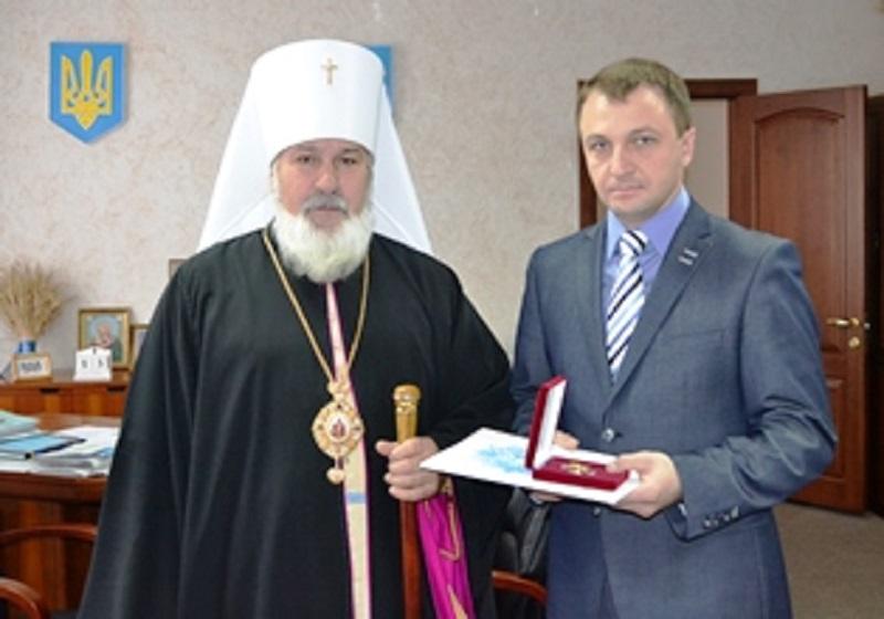 Тарас Креминь награжден орденом Святого Николая Чудотворца