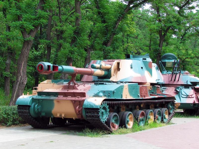 Двое в танке. В Николаеве в парке Победы задержали расхитителей военного раритета
