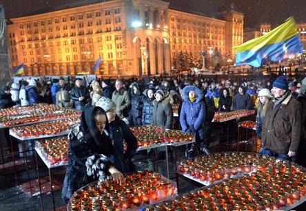 Главное, чтобы жертвы были не напрасными. «Ночь памяти» на Майдане