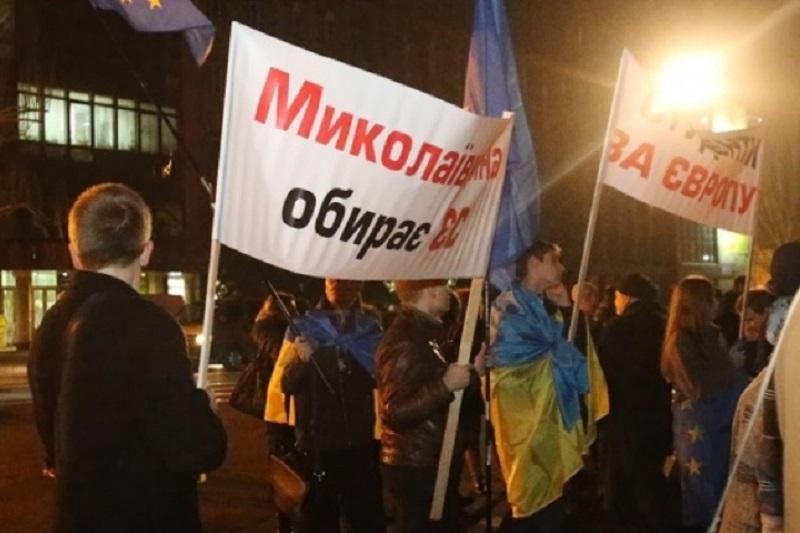 Годовщина Майдана. В Николаеве установят палатку, которую не дали поставить год назад. И сделают не только это!