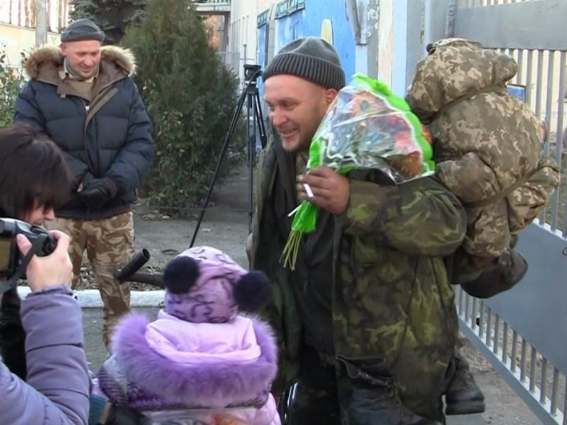 Воины 79-ки вернулись из донецкого аэропорта