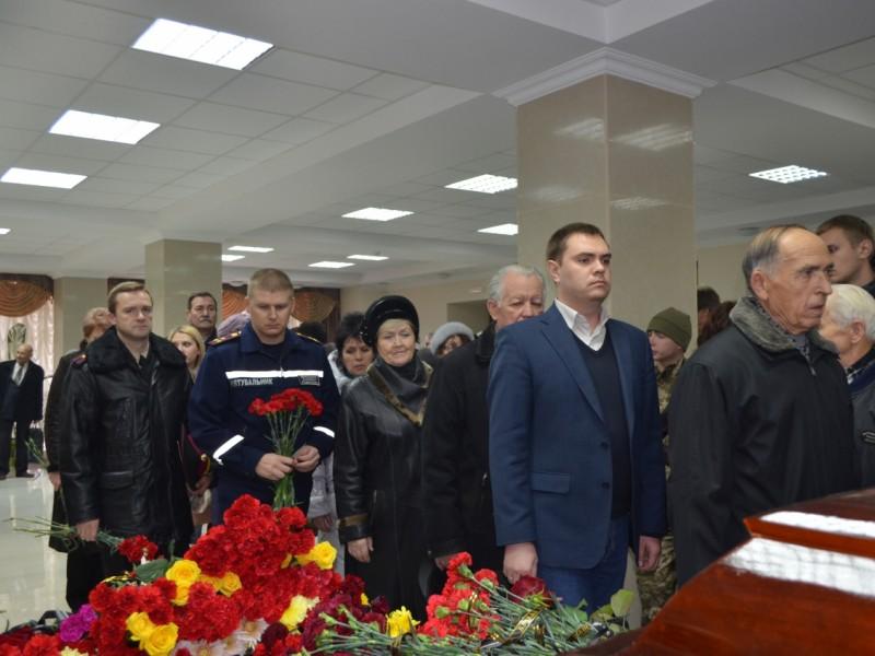 В Николаеве попрощались с председателем ветеранской организации М.А.Шинкаревым