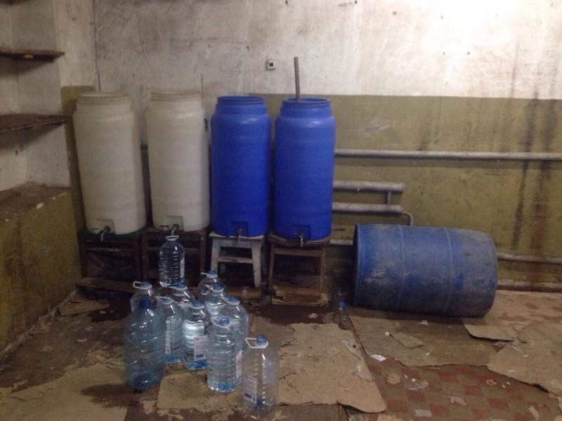 Цех по производству «пьяной химии» рассекретили николаевские налоговики