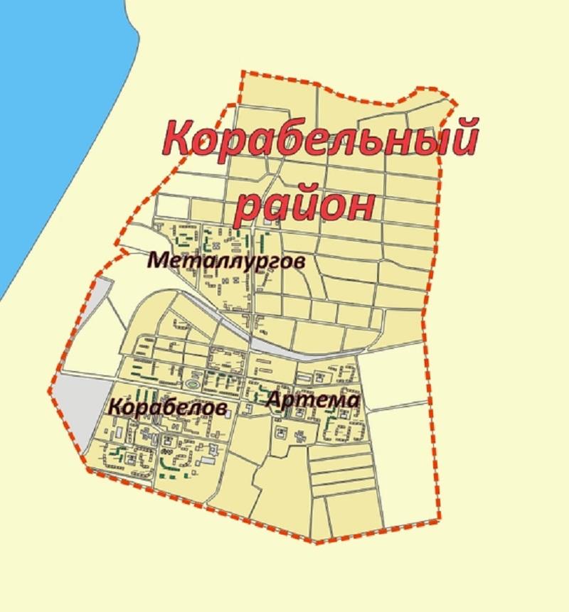 николаев карта