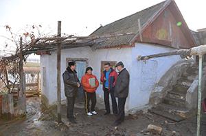 В Николаеве затопило дом на Набережной