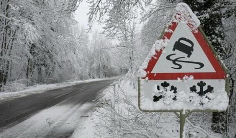 В четверг обещают мокрый снег и гололедицу