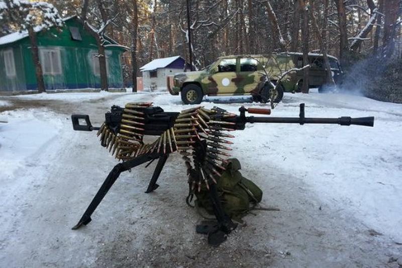 Оружие Пореченкова досталось нашим бойцам