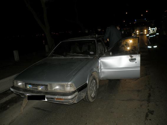 В Николаеве пьяный подросток угнал машину у соседа и поехал за горизонт