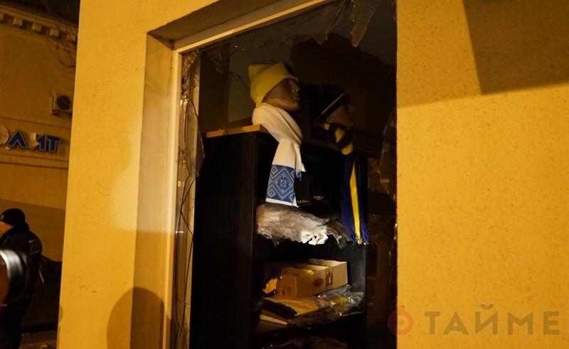 В Одессе на Малой Арнаутской ночью взорвали магазин «Патриот»