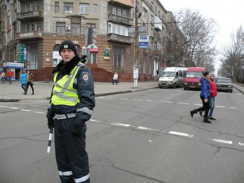 Из-за отключений электроэнергии в Николаеве не работают светофоры