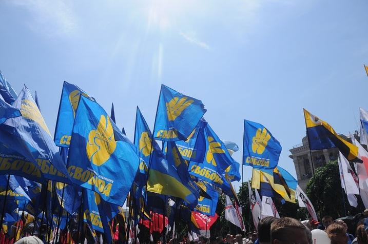 «Николаев — это Россия». Идеологическая диверсия в Николаеве, пострадала агитатор ВО «Свобода»