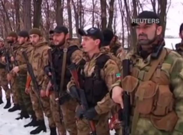 Кадыровцы под Донецком развернули военный лагерь. Откровения наемников