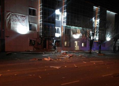 Теракт в Одессе: взорвали офис волонтеров