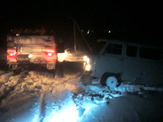 Вчера николаевские спасатели вытащили из снежных ловушек 46 человек