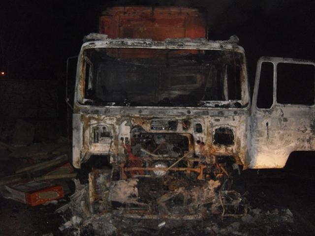Ночью в машине сгорели двое: оставили включенной печку и уснули