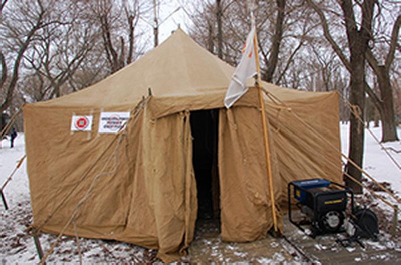 В Николаевской области развернут 271 стационарный пункт обогрева – ГСЧС