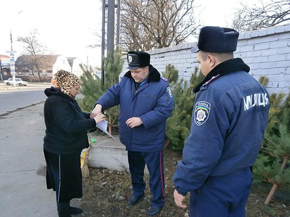 В Николаеве объявлена охота на нечипированные елки