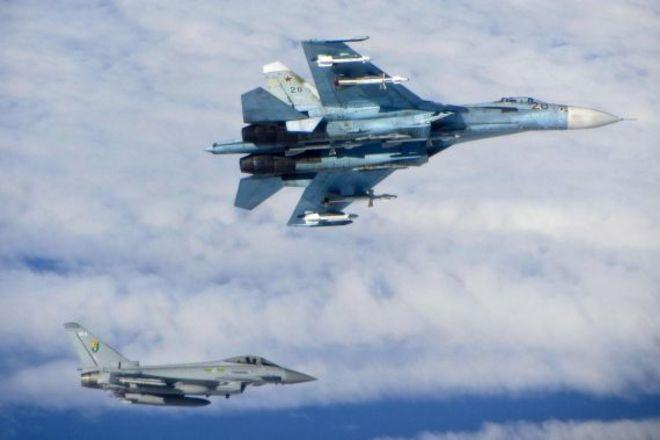 Норвегия опубликовала видео перехвата российского истребителя