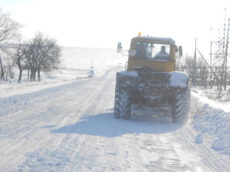 Служба автомобильных дорог в Николаевской области все еще просит граждан воздерживаться от поездок