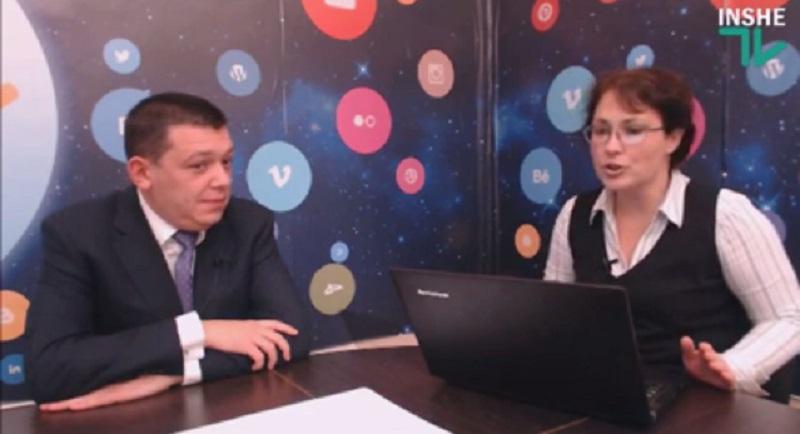 «Гость дня» на «Інше ТВ» – начальник Николаевской таможни Александр Горбов