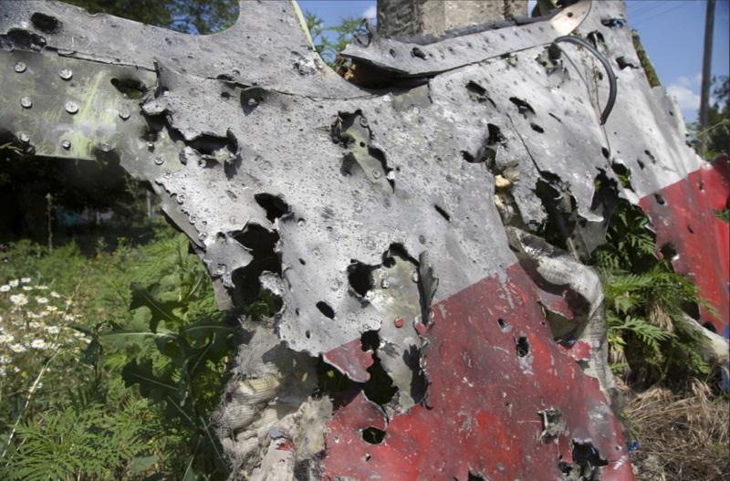 В телах погибших пассажиров малазийского боинга нашли то, что может быть частями сбившей его ракеты