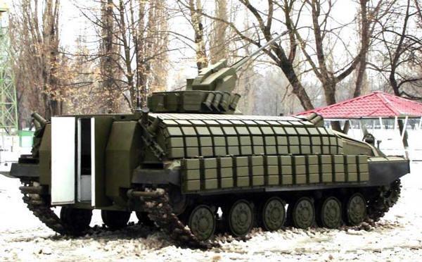 «Укроборонпром» готов запустить в производство современный гибрид – нечто среднее между танком и БМП
