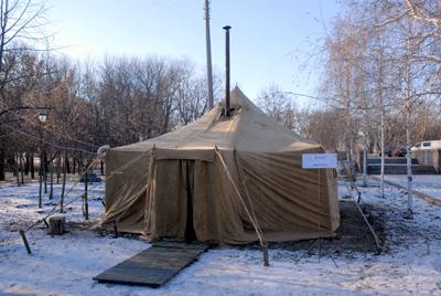 В Николаеве работают пункты горячего питания и обогрева для бездомных