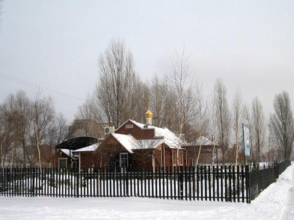 В Киеве подожгли храм мученика Трифона