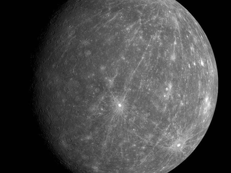 11 января можно будет увидеть Меркурий невооруженным глазом