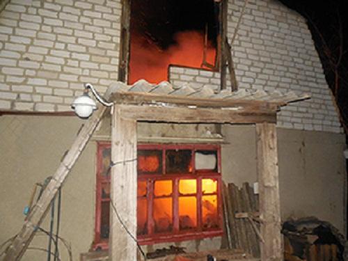 На Николаевщине сгорел жилой дом, хозяин погиб