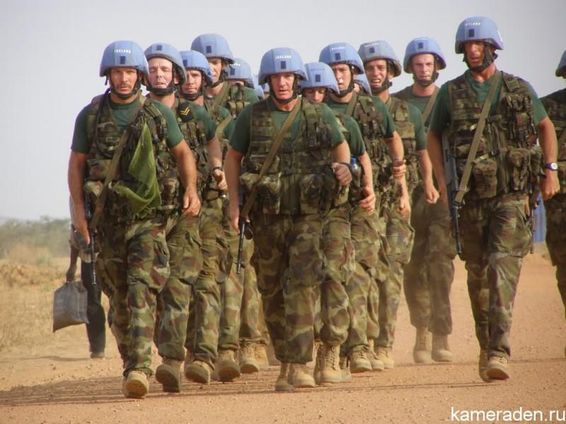 В ООН обсуждают условия отправки миротворцев в Украину