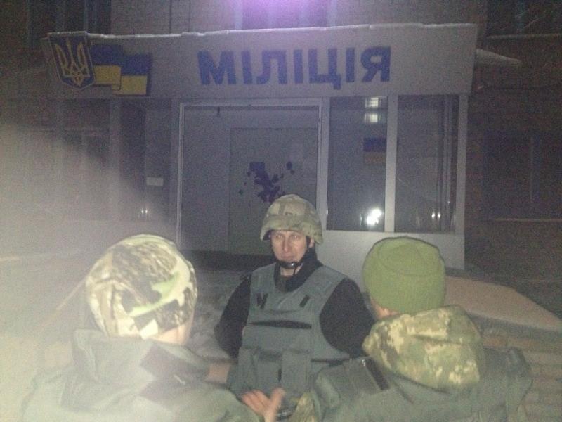 В Дебальцево при защите горотдела милиции от боевиков геройски погиб его начальник