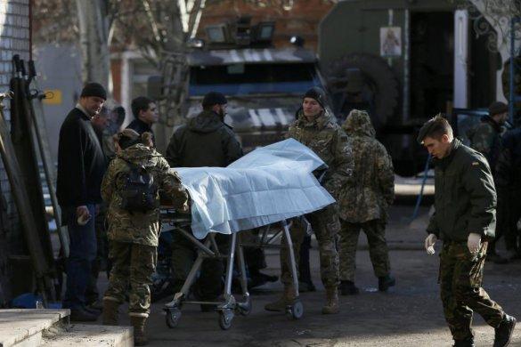 В последние дни боев в Дебальцево 22 бойца погибли, более 150 ранены