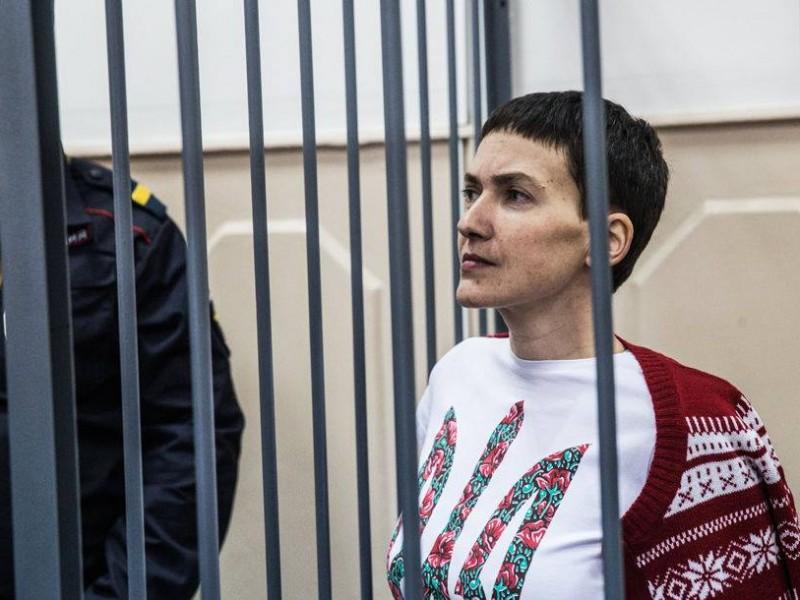 Надежда Савченко в суде сказала, что думает о тех, кто ее судит