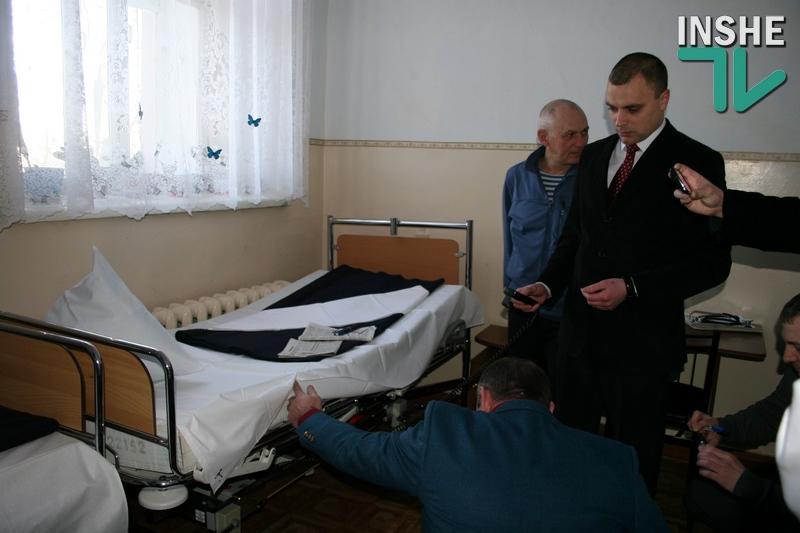 Раненым бойцам – то, что нужно: в Николаевском военном госпитале на три автоматизированных кровати стало больше