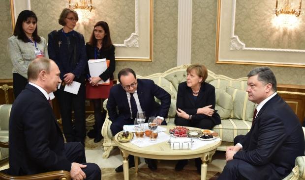 Лидеры стран в Минске начали встречу в широком формате