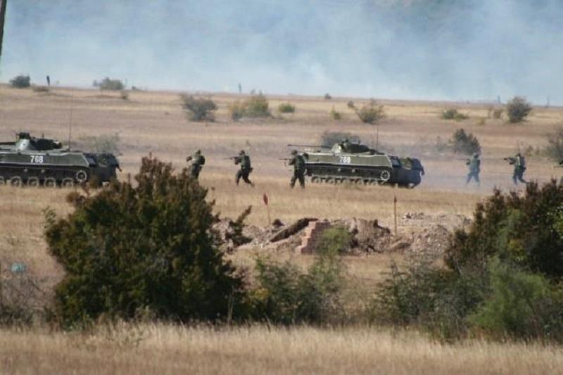В Николаевской области начались военные учения