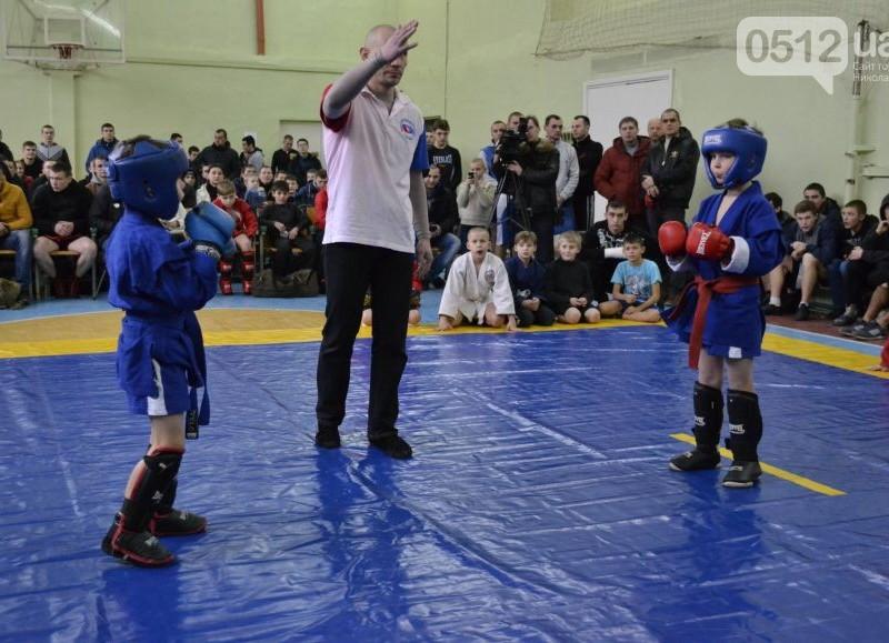 Всеукраинский чемпионат по самбо выиграли николаевские юниоры