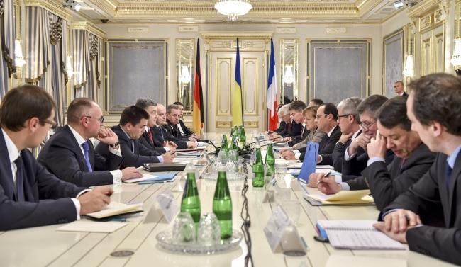 Валерий Чалый: «План Путина» и федерализация Украины на встрече с Меркель и Олландом  не обсуждались