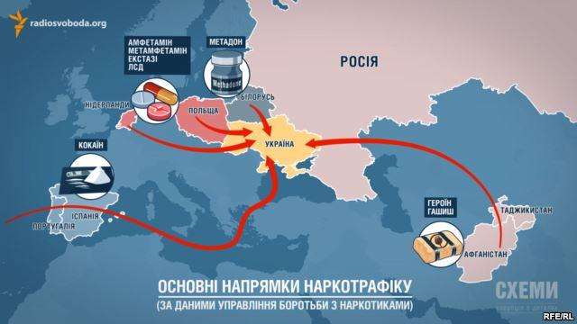 Террористы ведут борьбу за контроль над наркотрафиком из России — расследование СМИ