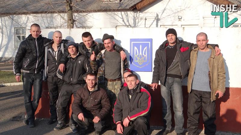 Николаев отправил в АТО первую группу бойцов-десантников из четвертой волны мобилизации